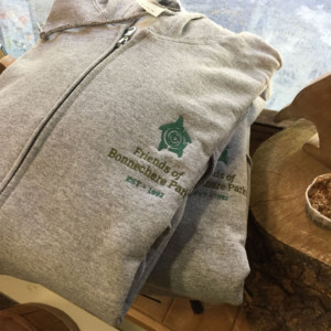 photo of embroidered hoodie - friends of bonnechere parks
